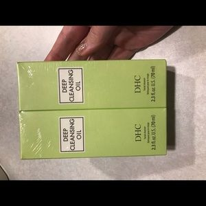 2pk of deep cleansing face oil